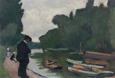 Albert Marquet, Au bord de la Seine à Poissy