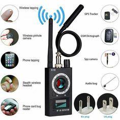 Multi-function Anti Detector Camera Audio Bug Finder