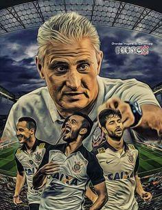 Corinthians Tattoo, Corinthians Time, Sport Club Corinthians, Sports Clubs, Picture Photo, Soccer, Pictures, Fan Art, Illustration