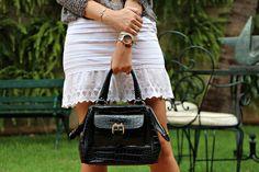 look do dia, blog de moda, blogueira de ribeirão preto, blusa le lis blanc, rasteira renner, acessórios marina casemiro, bracelete, aneis, pulse