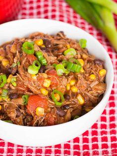 Super Easy Chili Recipe with Leftover Pork Roast