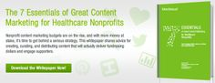 Insider Tips for Nonprofit Content Marketing at Healthcare Organizations