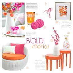 """""""Bold Interior"""" by c-silla ❤ liked on Polyvore featuring interior, interiors, interior design, home, home decor, interior decorating, Steel 