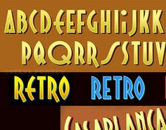 """Check out new work on my @Behance portfolio: """"Another Retro Typeface"""" http://on.be.net/1Gk0qrs"""
