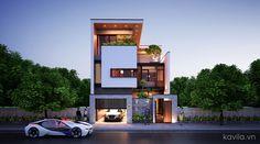 Top 10 Modern house designs – Modern Home 3 Storey House Design, Duplex House Design, House Front Design, Modern House Design, Facade Architecture, Residential Architecture, Facade Design, Exterior Design, Building Design