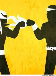 Luke Cage and Iron Fist by Rogan Josh aka Modhero