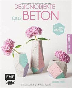 Des idées d'objets en béton et des tutoriels DIY pour concevoir moules, motifs et empreintes... Diy Trend, Beton Design, Creative Art, Concrete, Cement, Place Card Holders, Ebay, Crafts, Decor