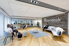 Zendesk Offices U2013 London Office Design For Customer Service Software  Provider Zendesk Located In London.