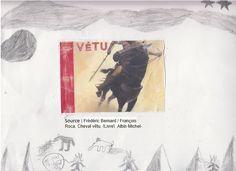 Couverture réalisée par Amine. Pour voir le livre utilisé, il faut cliquer sur mon dessin.