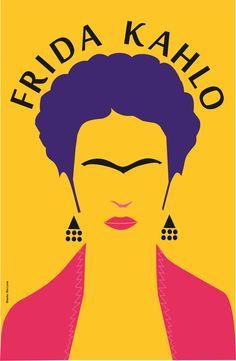 Frida Kahlo By Invader Johnny Clipart