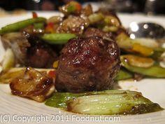 Lung King Heen - Hong Kong - Wagyu Beef Cubes - 3 Michelin Stars.