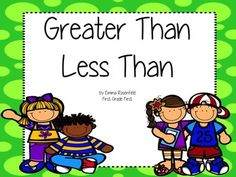 Greater Than Less Than ResourcesThis pack includes a whole bunch of materials you can use to support your kiddos as they learn how to compare numbers using greater than, less than, and equal to.