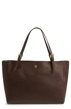 Tory Burch 'York' Saffiano Leather Buckle Tote available at #Nordstrom