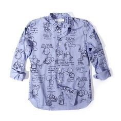 COMME des GARCONS SHIRT Mickey Sketch Shirt-6