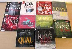 STEPHEN KING Hörbücher CDs! Carrie, Stephen King, Thriller, Cover, Books, Reading, Libros, Book, Book Illustrations