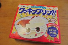 Kracie Popin' Cookin' pudding packaging.