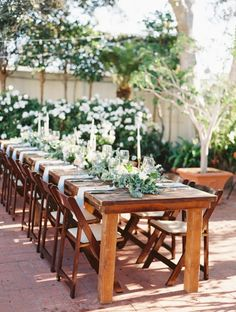 Dusty Blue + Lavender Spring Garden Wedding