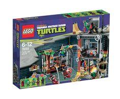Artikeldetail : Lego Ninja Turtles 79103 Turtle Lair Attack
