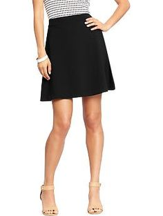 Womens Ponte-Knit Circle Skirts http://oldnavy.gap.com/browse/product.do?cid=1011458&vid=1&pid=977328002
