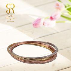 JILLY- #Bracelets by Gold Regalia https://goo.gl/uP6cp8 #DiamondJewelry #DiamondNecklace #WomensJewelry #IndianJewelry