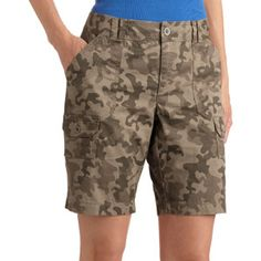 Faded Glory Women's Cargo Bermuda Shorts | Possible work shorts