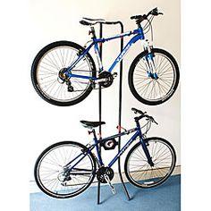 Lean Machine 2-bike Gravity Storage Rack