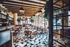 Chef Laurent Tourondel's Latest New York City Restaurant, L'Amico Photos   Architectural Digest