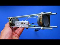 WOW! Building Bluetooth Speaker with a ROPE simple DIY - YouTube Speaker Box Diy, Diy Bluetooth Speaker, Diy Speakers, Diy Electronics, Electronics Projects, Spy Video Camera, Radios, Games Online, Electronic Schematics