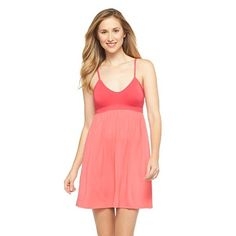 Women's Solid Fluid Knit Chemise - Gilligan & O'Malley®