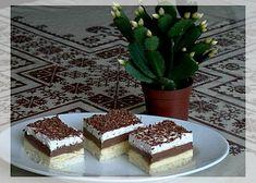 Ledové řezy recept - TopRecepty.cz Czech Recipes, Russian Recipes, Ethnic Recipes, Tiramisu, Ale, Sweets, Desserts, Czech Food, Tailgate Desserts
