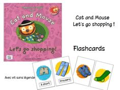 Cat and mouse - let's go shopping