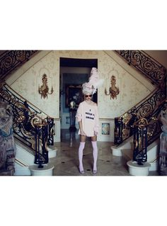 Awesome Marie-Antoinette inspired campaign for wildfox.  #fitforaqueen