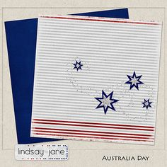 Australia Day tiny kit freebie from Lindsay Jane #scrapbook #digiscrap #scrapbooking #digifree #scrap