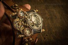 Steampunk Watch - time machine III on Behance