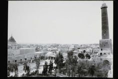 Historic view of the Jami' al-Nuri al-Kabir in Mosul https://archnet.org/sites/15592?utm_content=buffer3a82e&utm_medium=social&utm_source=pinterest.com&utm_campaign=buffer Yesterday the mosque was reported destroyed .