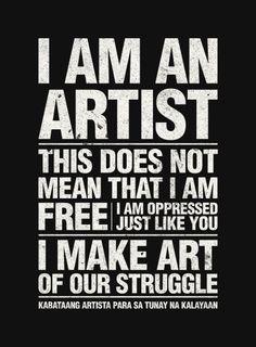 make art for the masses