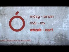 Polish Course - Lesson 1 Alphabet - YouTube
