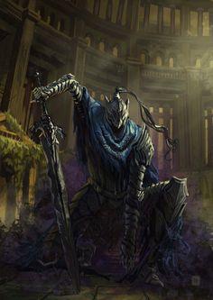 Art of Dark Souls Arte Dark Souls, Dark Souls 3, Dark Souls Artorias, Soul Saga, Dark Blood, Fantasy Armor, High Fantasy, Dark Knight, Wolf Knight