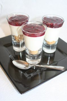 Creative Chaos: Dessert Shooters/ Shot Glass Desserts Ideas and Recipes