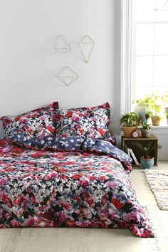 Wow oh wow I need this in my life // Plum & Bow Photo Rose Duvet Cover