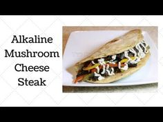 Alkaline vegan mushroom cheese steak with Dr Sebi approved ingredients; What You Will Need This recipe makes about 4 servings. Alkaline Diet Recipes, Raw Vegan Recipes, Vegan Foods, Vegan Meals, Healthy Recipes, Alkaline Breakfast, Dr Sebi Recipes, Recipes For Beginners, Cooking