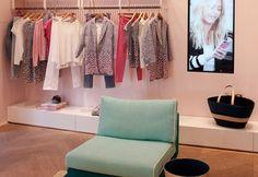 Sarah Lavoine décore une boutique Comptoir des Cotonniers