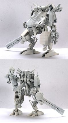 Big Tau Battlesuit warhammer 40k. Some of these parts must be printed. Some of these are really great chimeras.