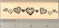 Heart Border Rubber Stamp *** You can find out more details at the link of the image.