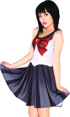 Living Dead Sailor Pluto Skater Dress - Buy Online Australia Beserk