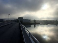 Mist before sunshine in Oulu, Finland. Photo Mauri Kuorilehto (14.10.2016).