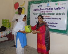 Gift of Solar Lights! Presented by Miss Lilian Charles (The Coordinator of Primary Education Project) in PEP schools, Rural Sindh, Pakistan. Primary Education, Solar Lights, Beautiful Children, Schools, Pakistan, Gift, Projects, Log Projects, Beautiful Kids