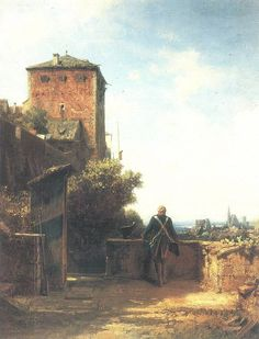 Carl Spitzweg Der Wachposten