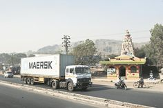 Maersk road transport in India