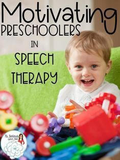 Tips to keep preschoolers engaged in speech therapy sessions from Ms. Gardenia's Speech Room.
